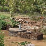 The Water Project: Ilinge Community B -  Finished Sand Dam