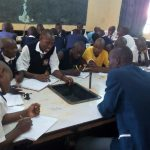 The Water Project: Lelmokwo Boys' Secondary School -  Training