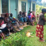 The Water Project: Mwiyala Community, Benard Spring -  Hand Washing Demo