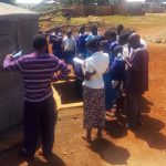The Water Project: Mwiyenga Primary School -  Tank Maintenance Training