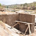 The Water Project: Kasioni Community A -  Well Construction
