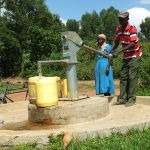 The Water Project: Mukangu 2 Well Rehabilitation Project -