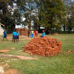 The Water Project: Bumini Primary School -  Bricks Delivered For Latrines