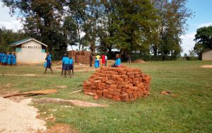 The Water Project:  Bricks Delivered For Latrines