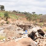 The Water Project: Kasioni Community A -  Well Location