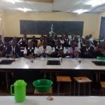 The Water Project: Lelmokwo Boys' Secondary School -  Hand Washing