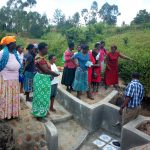 The Water Project: Shiamboko Community, Oluchinji Spring -  Spring Maintenance Training