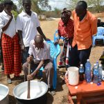 The Water Project: Kithuluni Community A -  Soap Making Training