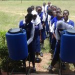 The Water Project: Matete Girls High School -  Hand Washing