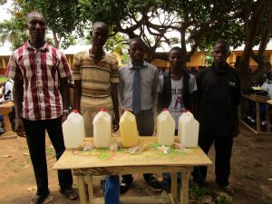 The Water Project:  Making Hand Washing Stations