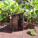 The Water Project: Rubona Kyagaitani Community -  Pit Latrine With Hand Washing Station