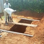 The Water Project: Mwiyenga Primary School -  Latrine Construction