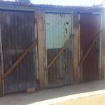 The Water Project: Shibale Primary School -  Closed Latrines