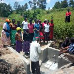 The Water Project: Shiamboko Community -  Spring Maintenance Training
