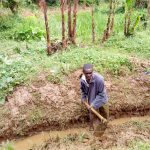 The Water Project : 7-kenya4738-digging-drainage