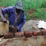 The Water Project: Ebuhando Community -  Construction