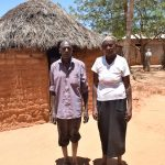 The Water Project: Katunguli Community -  Family