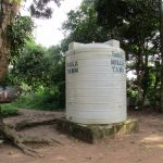 The Water Project: Benke Community, Waysaya Road -  Water Tank In Community
