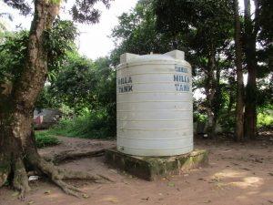 The Water Project:  Water Tank In Community