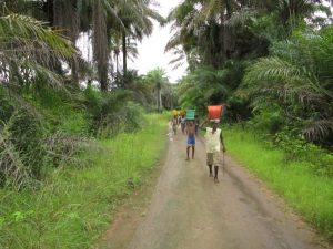 The Water Project : 8-sierraleone5130-carrying-water