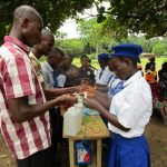 The Water Project: Kulufai Rashideen Secondary School -  Making Hand Washing Stations