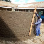 The Water Project: Bumini Primary School -  Latrine Wall Construction