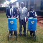 The Water Project: Lelmokwo Boys' Secondary School -  Hand Washing Stations