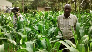 The Water Project:  Teacher Posing At School Farm