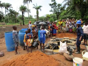 The Water Project : 9-sierraleone5130-delivering-water-for-drilling