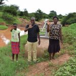 The Water Project: Kumina Wauni New Well Project -