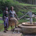 The Water Project: Kyangundi New Well Project -