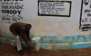 The Water Project : asdf_muthei-primary-school-tank_year-after-report-pics-7
