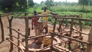 The Water Project : community-members-using-the-water-point-3