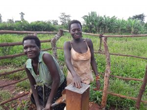 The Water Project : owechi-daphine-on-the-left-with-her-elder-sister-rose-on-the-right