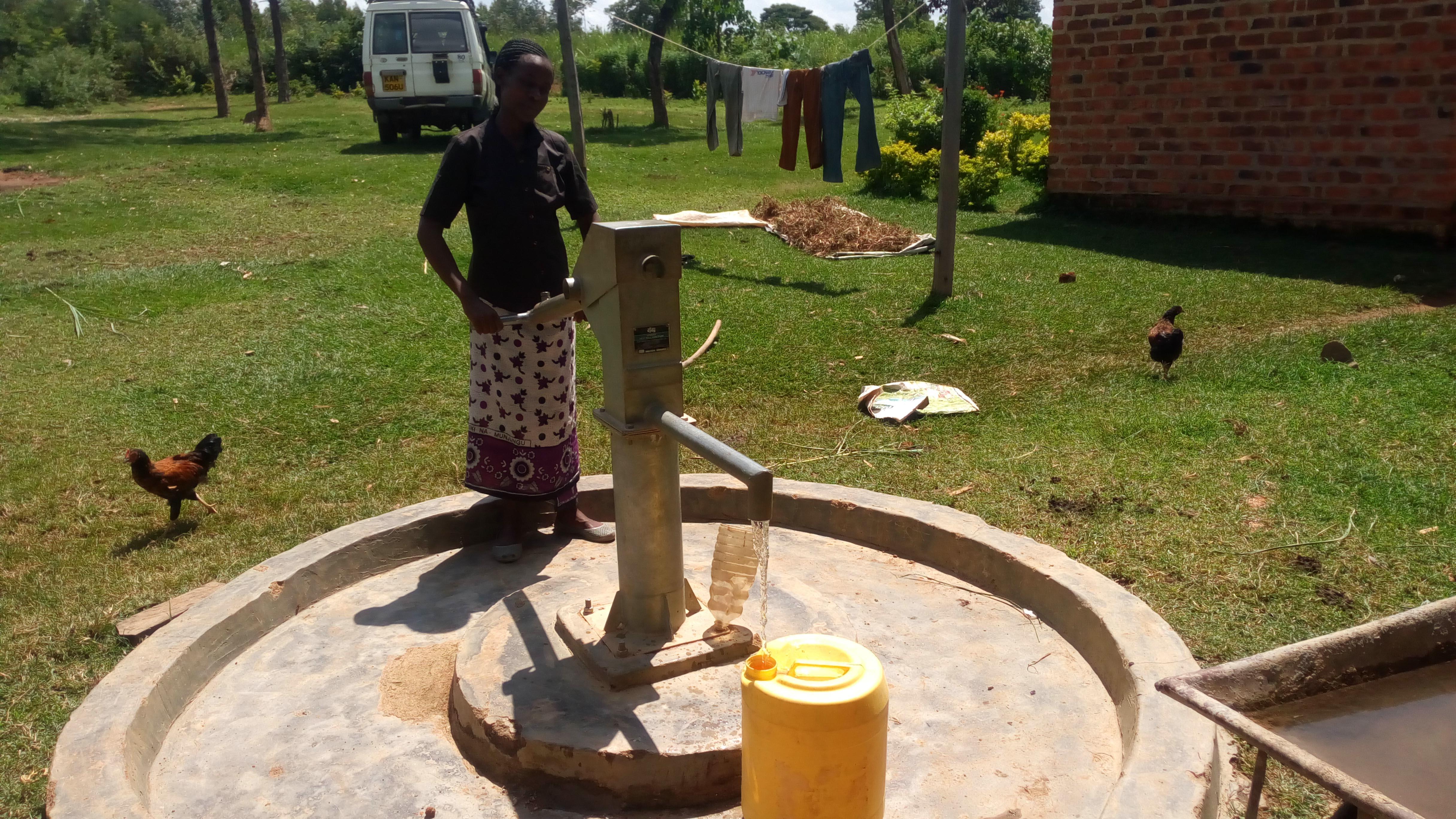 The Water Project : ikoli-community-jackline-paul-wuc-member-1