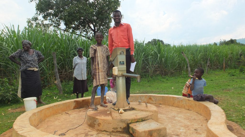 The Water Project : kimanget-community-1