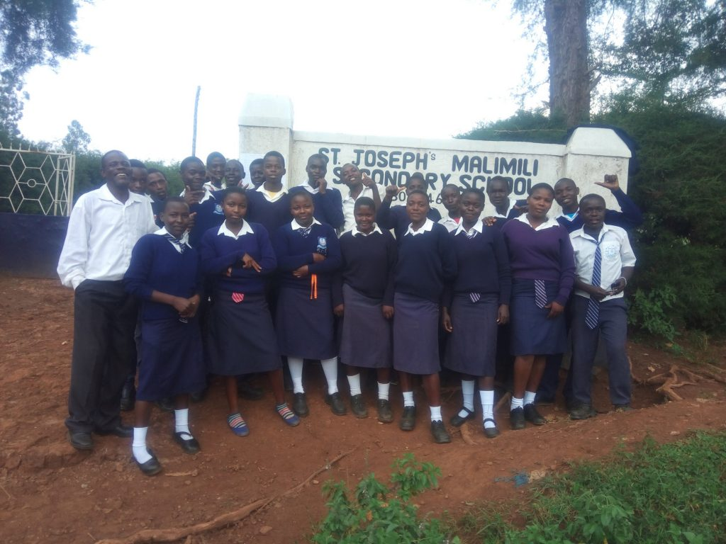 The Water Project : 1-kenya18001-school-entrance