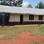 The Water Project: Womulalu Secondary School -  Classrooms And Plastic Tank