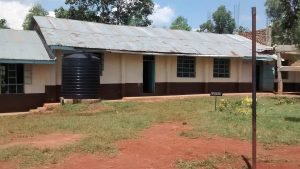 The Water Project:  Classrooms And Plastic Tank