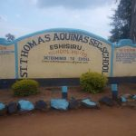The Water Project: Eshisiru Secondary School -  School Gate