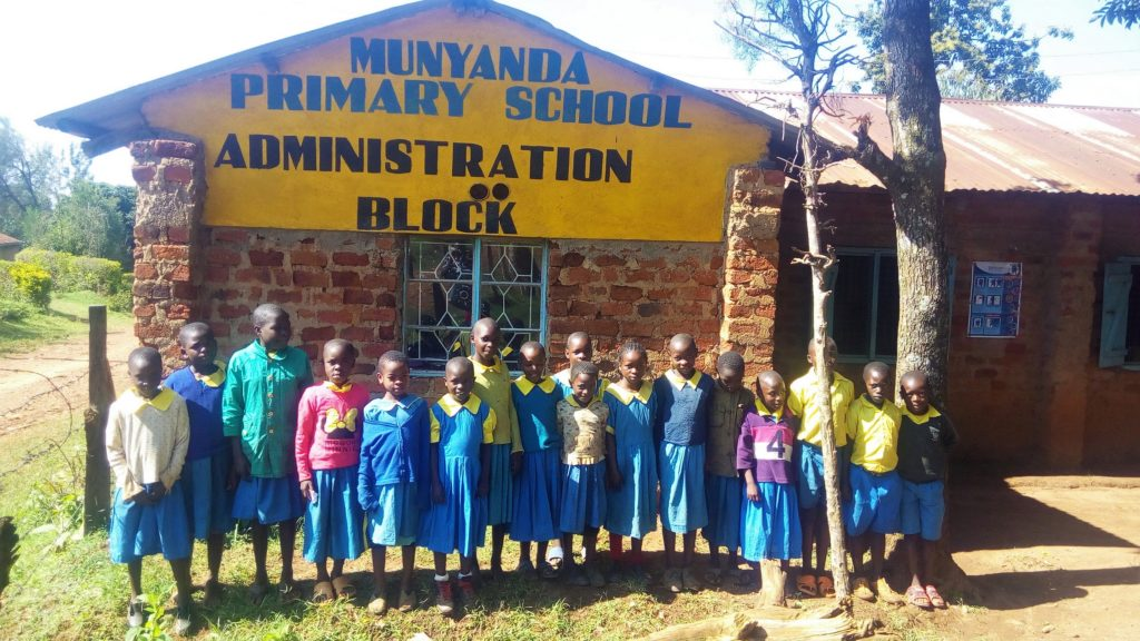 The Water Project : 1-kenya18012-students