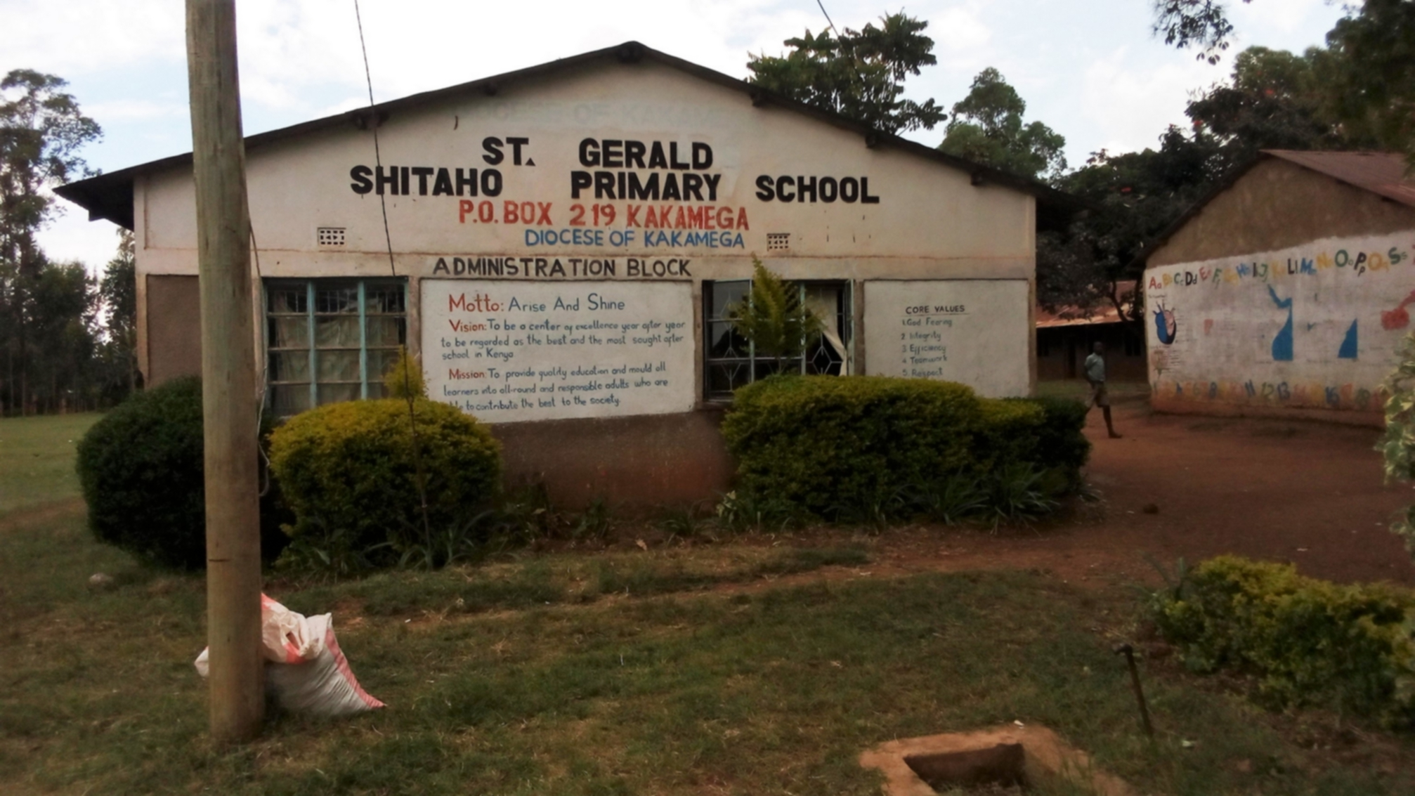 The Water Project : 1-kenya18033-school-grounds