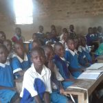 The Water Project: Sabane Primary School -  Students In Class
