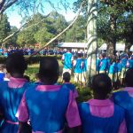 The Water Project: Mudete Primary School -  Students At Assembly