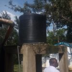 The Water Project: Eshisiru Secondary School -  Plastic Tanks