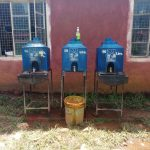 The Water Project: Madegwa Primary School -  Hand Washing Stations Without Water