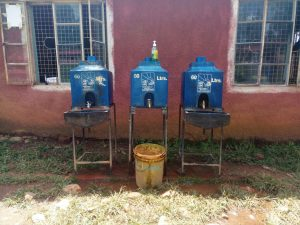 The Water Project:  Hand Washing Stations Without Water