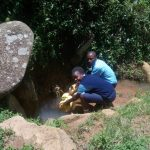 The Water Project: Gidagadi Secondary School -  Fetching Water