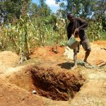 The Water Project: Emukhalari Primary School -  Latrine Construction