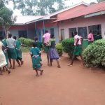 The Water Project: Womulalu Primary School -  Rush For The Latrines